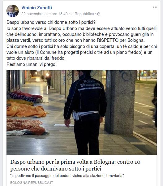 Vinicio Zanetti post