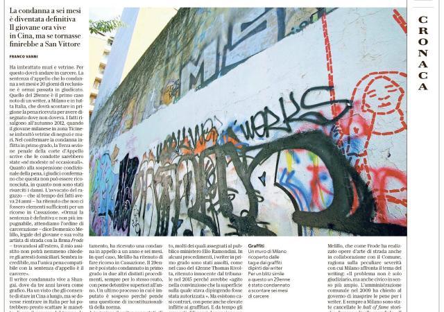 Da Repubblica Milano, 23 novembre 2017